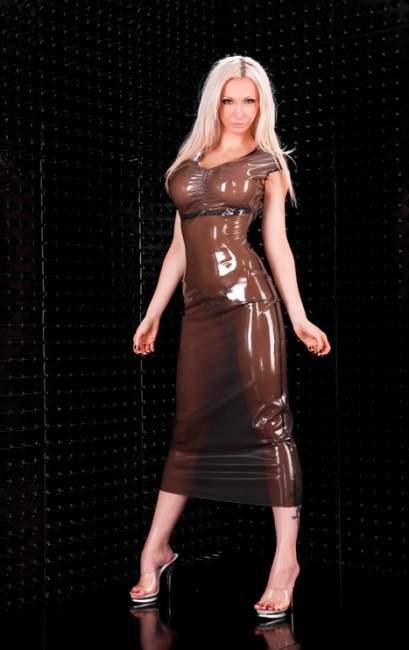 Фото платья латекса