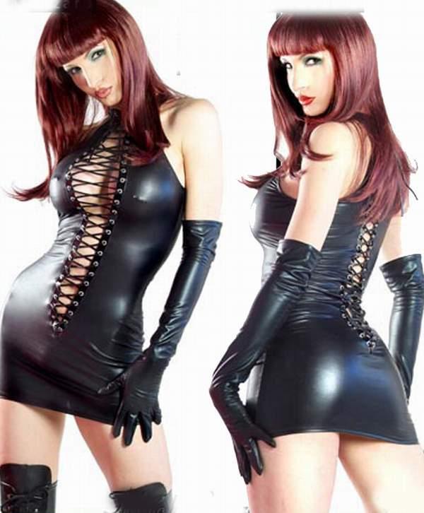 Эротическая виниловая одежда