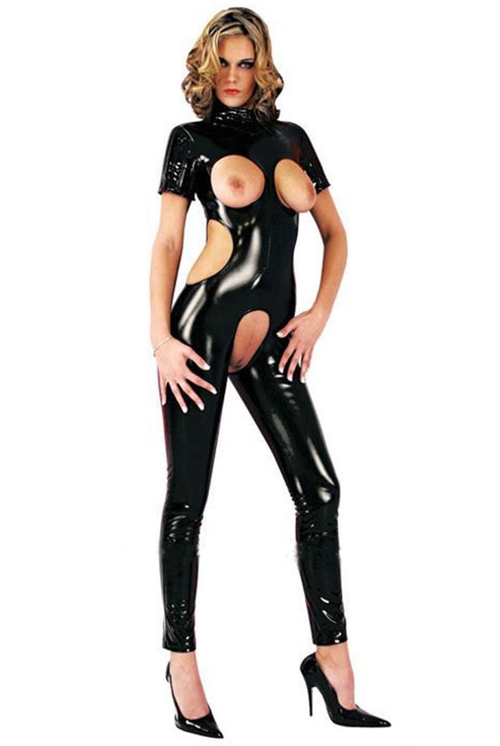 Фото в интим латекс частных костюм