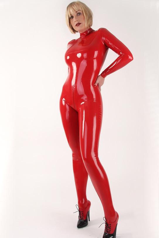 Женский костюм из латекса
